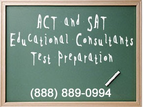 ACT and SAT Educational Consultants Test Preparation